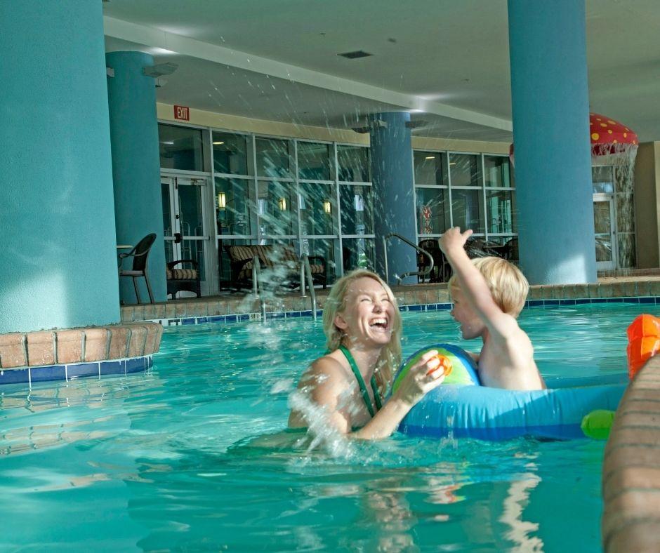 Indoor Pool at Bay View Resort